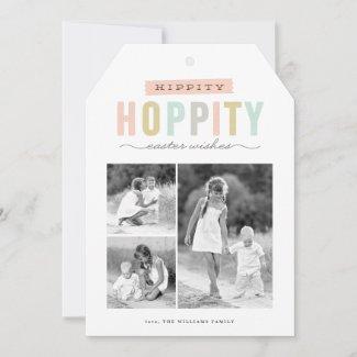 Hoppy Easter | Multi-photo Easter Card