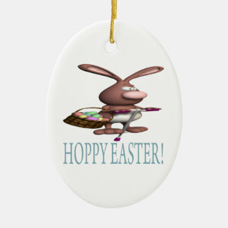 Hoppy Easter Christmas Tree Ornaments