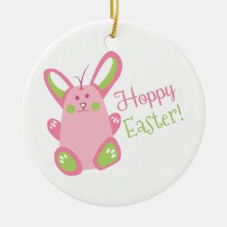 Hoppy Easter Christmas Ornaments