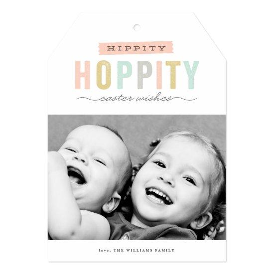 Hoppy Easter | Photo Easter Card
