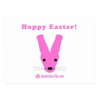 Hoppy Easter! Postcard