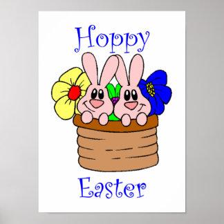 Hoppy Easter Posters