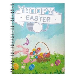 Hoppy Easter Spiral Notebook