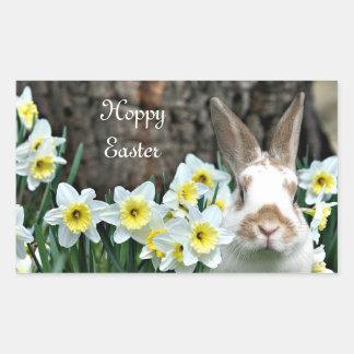 Hoppy Easter Rectangular Sticker