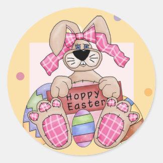 Hoppy Easter Stickers