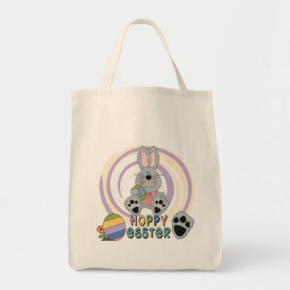 Hoppy Easter T-shirts and Gifts Grocery Tote Bag