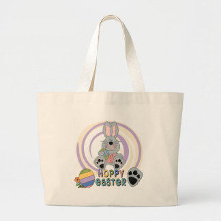 Hoppy Easter T-shirts and Gifts Jumbo Tote Bag