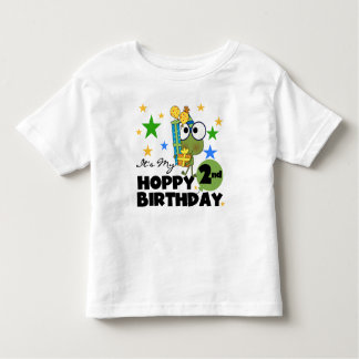 Hoppy Frog 2nd Birthday T-shirts and Gifts
