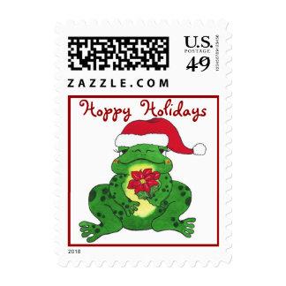 Hoppy Frog Holiday - Stamp
