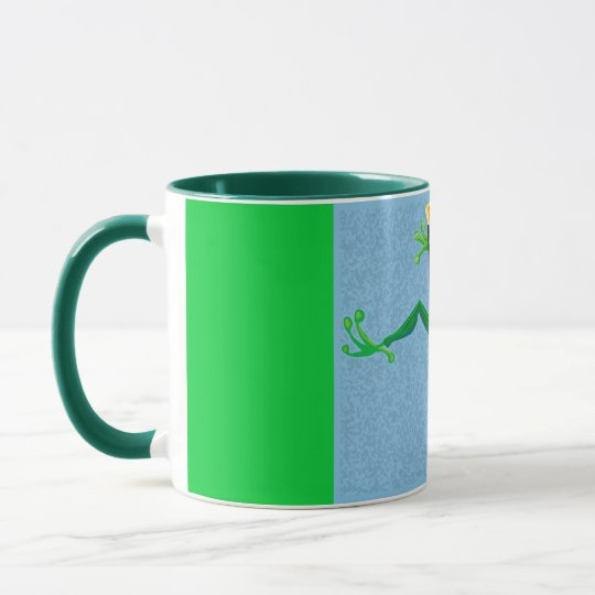 Hoppy frog mug