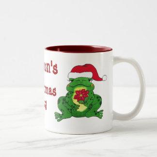 Hoppy Frog Personalized Mug