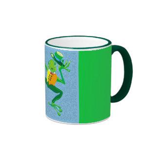 Hoppy frog ringer mug