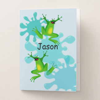 Hoppy Frog School Folder