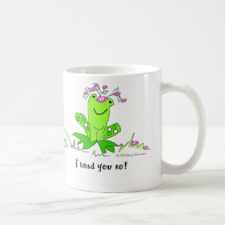 Hoppy frog T-shirt Classic White Coffee Mug