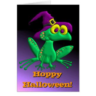 Hoppy Halloween! Greeting Cards