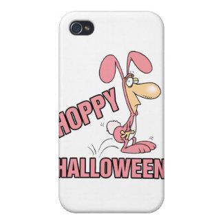 hoppy halloween funny bunny costume iPhone 4 case