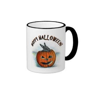 HOPPY HALLOWEEN! RINGER COFFEE MUG