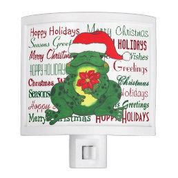 Hoppy Holidays Christmas - Night Light