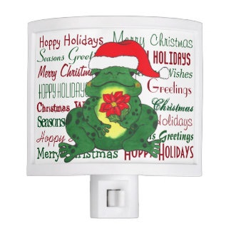 Hoppy Holidays Christmas - Night Light