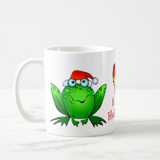 Hoppy Holidays Frog Mug
