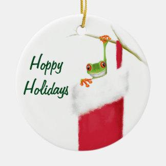 Hoppy Holidays Ornament