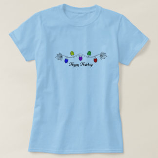 Hoppy holidays women's t-shirt