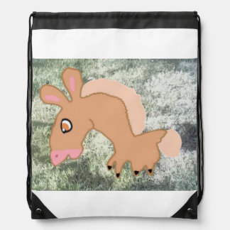 Hoppy Horsey Horace Drawstring Bag