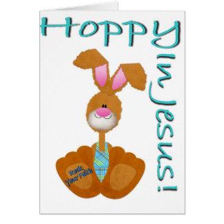 Hoppy In Jesus! Card