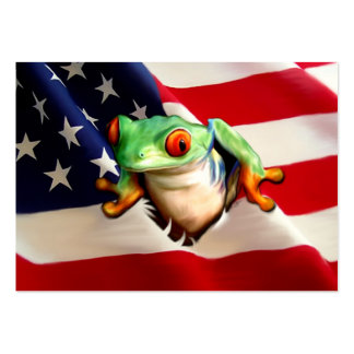 Hoppy Independence Day ACEO Art Trading Cards Business Card Templates