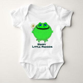 Hoppy little froggie baby bodysuit