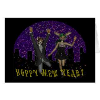 Hoppy Mew Year Card