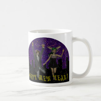 Hoppy Mew Year Mug