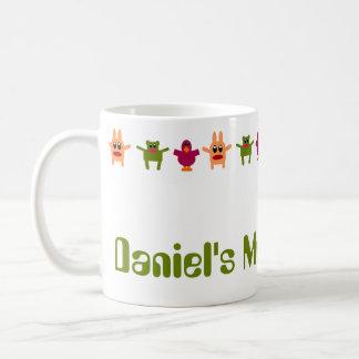 Hoppy Monsters Name Coffee Mug Daniel