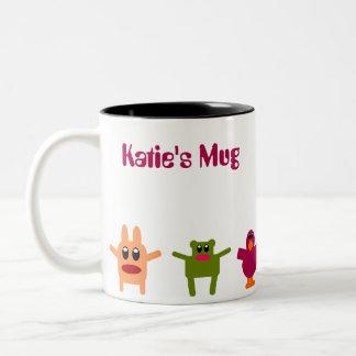 Hoppy Monsters Name Coffee Mug Katie