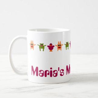 Hoppy Monsters Name Coffee Mug Maria