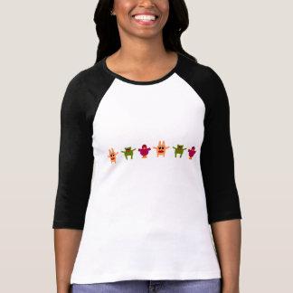 Hoppy Monsters Pattern T-Shirt