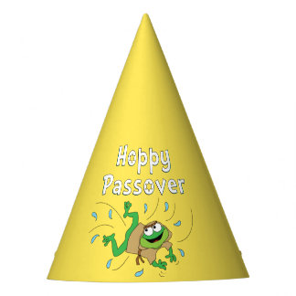 """Hoppy Passover"" Party Hat"