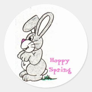Hoppy Spring Stickers