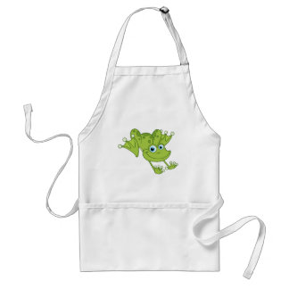 Hoppy the Happy Frog Adult Apron