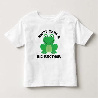 Hoppy To Be A Big Brother Gift Toddler T-shirt