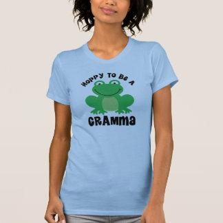 Hoppy To Be A Gramma Gift T Shirt