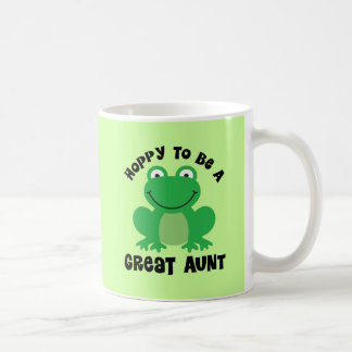 Hoppy To Be A Great Aunt Gift Coffee Mug