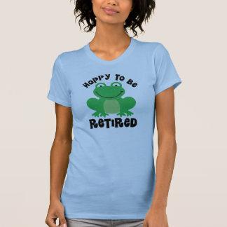 Hoppy To Be Retired Gift T Shirt