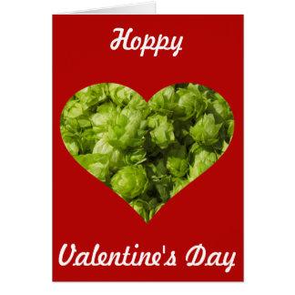 Hoppy Valentines Day! Card