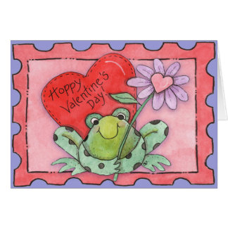 Hoppy Valentine's Day - Greeting Card