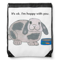 Hoppy with You drawstring backpack