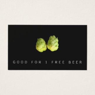 Hops Beer Brewery Ticket