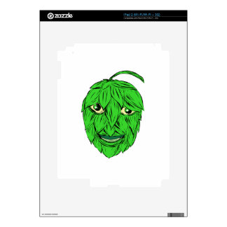 Hops Man Drawing iPad 2 Skins