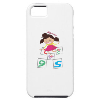 Hopscotch Girl Case For iPhone 5/5S