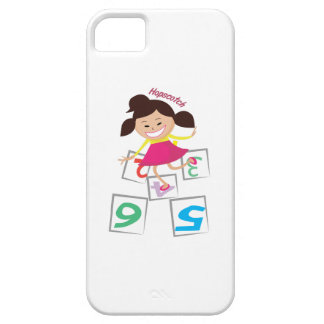 Hopscotch Girl iPhone 5/5S Cover